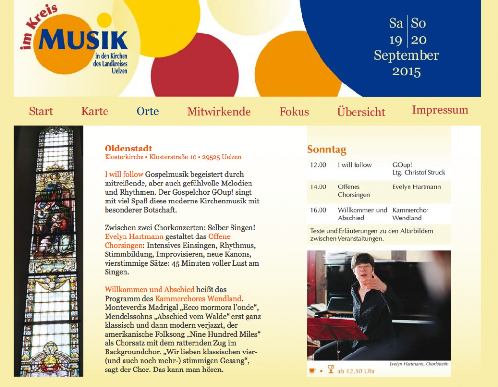 Musik im Kreis 2015